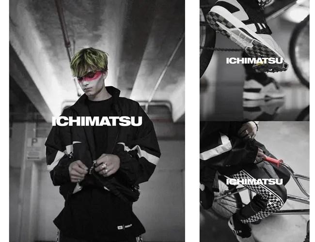 ASICS TIGER × HIGHS and LOWS × monkey timeのトリプルコラボ「ICHIMATSU」が3/24から展開 (アシックス タイガー ハイズ・アンド・ローズ モンキータイム)