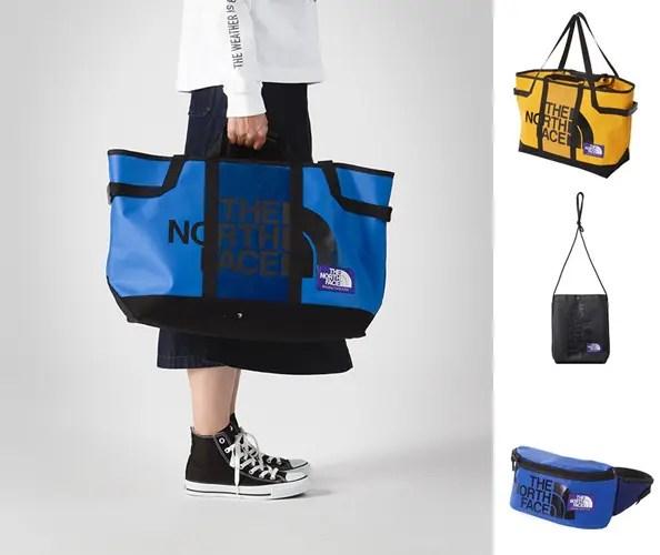 ザ・ノース・フェイス パープル レーベル「TPE Tote Bag/Shoulder Pocket/Waist Bag」2018年 春夏モデル (THE NORTH FACE PURPLE LABEL 2018 SPRING/SUMMER)