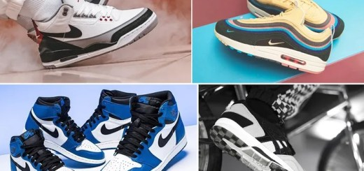 "【まとめ】3/24発売の厳選スニーカー!(NIKE AIR JORDAN 1 RETRO HIGH OG ""Game Royal"")(AIR MAX 1/97 VF SW ""Sean Wotherspoon"")(AIR JORDAN 3 RETRO ""Tinker"" White/Fire Red)(ASICS TIGER × HIGHS and LOWS × monkey time ""ICHIMATSU"")他"
