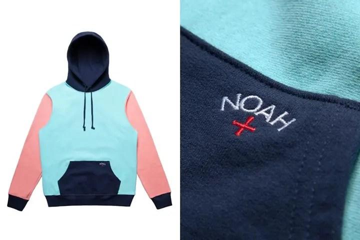 """Noah Color Block Hoodie """"Multi"""" (ノア カラー ブロック フーディー """"マルチ"""")"""