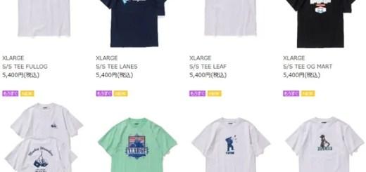 【Championコラボ】XLARGE/X-girl コラボ/レギュラーアイテムが3/30から発売! (エクストララージ エックスガール)