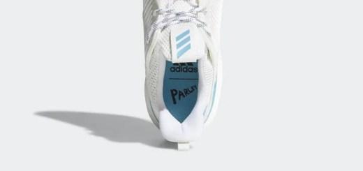 """4/22発売予定!Parley for the Oceans × adidas ALPHA BOUNCE """"Non Dye/Vapor Blue"""" (パーレイ・フォー・ジ・オーシャンズ アディダス アルファ バウンス """"ノン ダイ/ヴェイパー ブルー"""") [CQ0784]"""