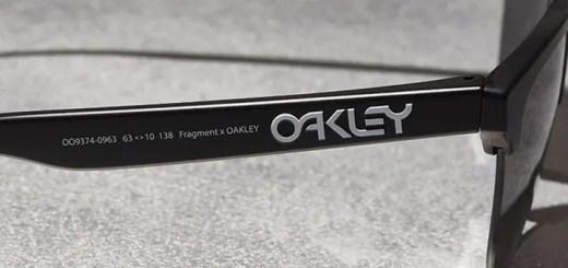 "FRAGMENT × OAKLEY ""Frogskins Lite""が4/28からDSMG/OAKLEY直営にて発売 (フラグメント オークリー ""フロッグスキン ライト"" 藤原ヒロシ)"