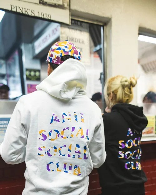 A BATHING APE × Anti Social Social Club コラボ第2弾が4/21に展開か? (ア ベイシング エイプ アンチ ソーシャル ソーシャル クラブ)