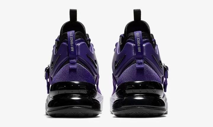 """【オフィシャルイメージ】4/20発売!ナイキ エア フォース 270 QS """"コート パープル"""" (NIKE AIR FORCE 270 QS """"Court Purple"""") [AQ1000-500]"""