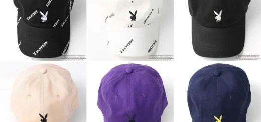 PLAYBOY × FREAK'S STORE 別注!6 PANEL CAP 全6モデルが5月中旬~発売 (プレイボーイ フリークスストア)
