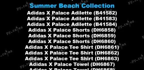 "Palace Skateboards × adidas Originals 2018 ""Summer Beach Collection"" のラインナップが登場 (パレス アディダス オリジナルス 2018年)"