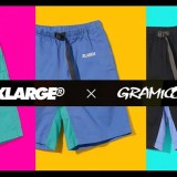 "GRAMICCI × XLARGE 2018 S/S ""G-SHORTS""が4/20から発売 (グラミチ エクストララージ)"