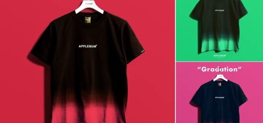 APPLEBUMから歴史ある企業の職人による染色で美しいグラデーションを表現したTEEが発売中 (アップルバム)