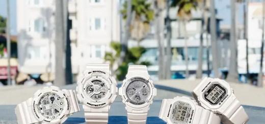 G-SHOCKから夏の手元に爽やかさを加える、ホワイトをテーマカラーにしたNewモデルが「Marine White」5月発売 (Gショック ジーショック)