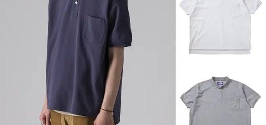 THE NORTH FACE PURPLE LABELからCOOLMAXを使用したビッグポロシャツ「H/S Big Polo Shirt」が発売 (ザ・ノース・フェイス パープルレーベル)