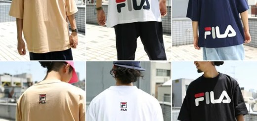 FILA × FREAK'S STORE 別注!ビッグシルエット ロゴ S/S TEEが6月上旬発売 (フィラ フリークスストア)