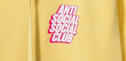 Anti Social Social Clubから新作アイテムが5/18発売 (アンチ ソーシャル ソーシャル クラブ)