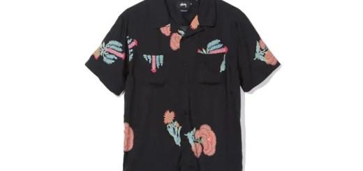 STUSSYから、サイケデリックなフラワープリントをまとったレーヨン仕立てのオープンカラーシャツなどの新作が発売 (ステューシー)