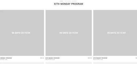 KITH MONDAY PROGRAM 2018年 第22弾が海外5/28発売予定 (キス)