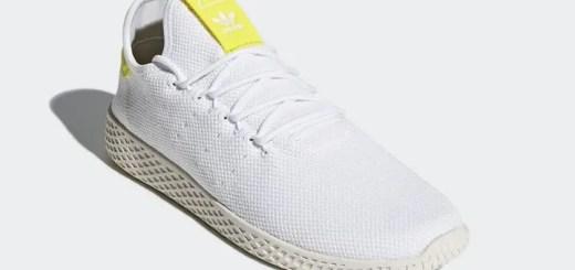"""6/1発売予定!Pharrell Williams x adidas Originals WMNS Human Race Tennis HU """"White/Chalk White"""" (ファレル・ウィリアムス アディダス オリジナルス ウィメンズ ヒューマン レース テニス """"ホワイト/チョーク ホワイト"""") [B41806]"""