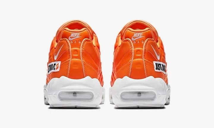 """【オフィシャルイメージ】6/28発売!ナイキ """"ジャスト ドゥ イット"""" コレクション エア マックス 95 """"ブラック/ホワイト/オレンジ"""" (NIKE """"JUST DO IT"""" COLLECTION AIR MAX 95 """"Black/White/Orange"""")[AV6246-001,100,800]"""