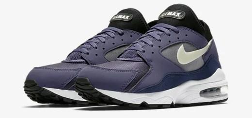 """【オフィシャルイメージ】ナイキ エア マックス 93 """"パープル/ブラック/ホワイト"""" (NIKE AIR MAX 93 """"Purple/Black/White"""") [306551-500]"""