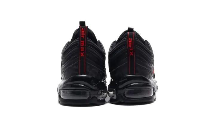 """ナイキ エア マックス 97 """"ブラック/ユニバーシティ レッド"""" (NIKE AIR MAX 97 """"Black/University Red"""") [AR4259-001]"""