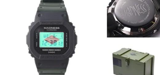 MADNESS x G-SHOCK DW-5000MDが6/25から発売 (マッドネス Gショック ジーショック)