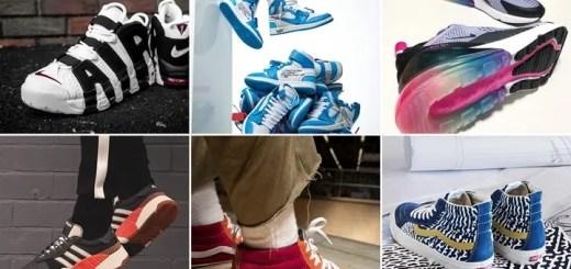 """【まとめ】6/23発売の厳選スニーカー!(OFF-WHITE × NIKE AIR JORDAN 1 RETRO HIGH OG """"White/Universitty Blue"""")(VANS × SUPREME 2018 S/S)(adidas Originals × Alexander Wang Season 3 Drop 3)(AIR MAX 270 """"Be True"""")他"""
