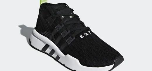 """7/19発売!アディダス オリジナルス エキップメント サポート ミッド ADV プライムニット """"コア ブラック/グレー ファイブ"""" (adidas Originals EQT SUPPORT MID ADV PRIMEKNIT {PK} """"Core Black/Grey Five"""") [B37435]"""