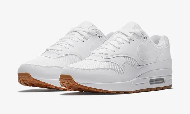 Nike Air Max 1 Essential whitewhitegum medium brownwhite