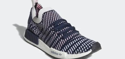 """adidas Originals NMD_R1 STLT PRIMEKNIT {PK} """"Collegiate Navy/Cloud White"""" (アディダス オリジナルス エヌ エム ディー プライムニット """"カレッジ ネイビー/クラウド ホワイト"""") [D96821]"""