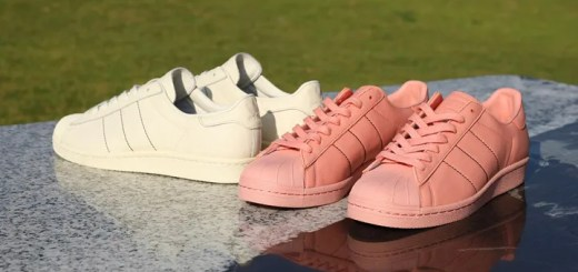 """7/14発売!KICKS LAB.限定!adidas Originals SUPERSTAR 80s """"Cream White/Trace Pink"""" (キックスラボ アディダス オリジナルス スーパースター 80s """"クリーム ホワイト/トレース ピンク"""")"""