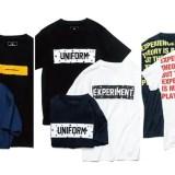 uniform experiment 2018 F/W COLLECTION オンタイムで着用可能なTEEが先行リリース (ユニフォーム・エクスペリメント 2018年 秋冬 コレクション)