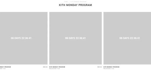 KITH MONDAY PROGRAM 2018年 第30弾が海外7/23発売予定 (キス)