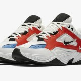 "【オフィシャルイメージ】ナイキ M2K テクノ ""サミット ホワイト/チーム オレンジ"" (NIKE M2K TEKNO ""Summit White/Team Orange"") [AV4789-100]"