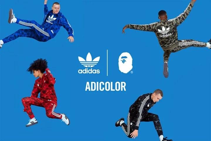 adidas Originals by A BATHING APE アディダスのアパレル「adicolor」が7/28発売 (アディダス オリジナルス バイ ア ベイシング エイプ)