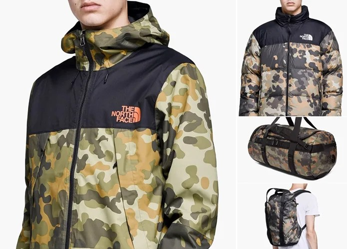 "LIMITED EDITION THE NORTH FACE ""Camo Pack"" (ザ・ノース・フェイス)"