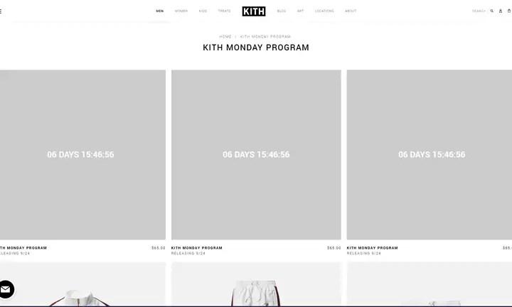 KITH MONDAY PROGRAM 2018年 第39弾が海外9/24発売予定 (キス)