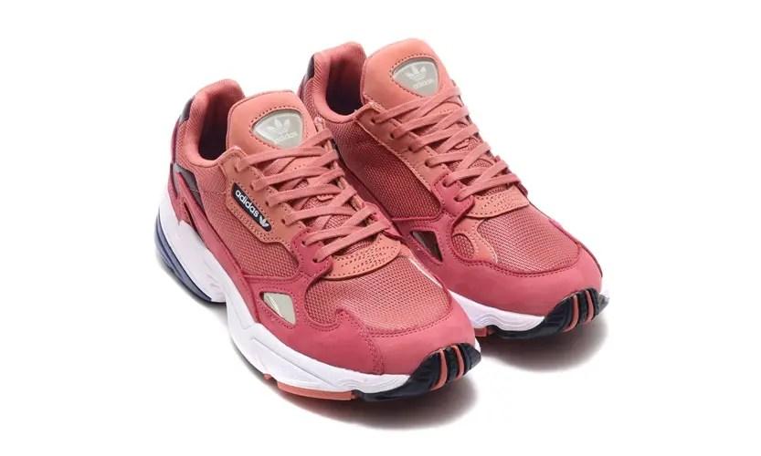 """adidas Originals WMNS FALCON """"Raw Pink"""" (アディダス オリジナルス ウィメンズ ファルコン """"ロウ ピンク"""") [D96700]"""