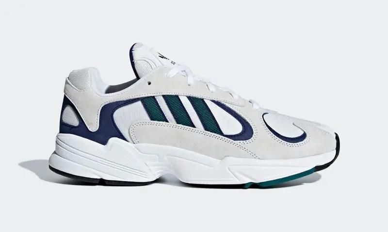 """11/30発売!adidas Originals YUNG-1 """"White/Noble Green"""" (アディダス オリジナルス """"ホワイト/ノーブルグリーン"""") [G27031]"""