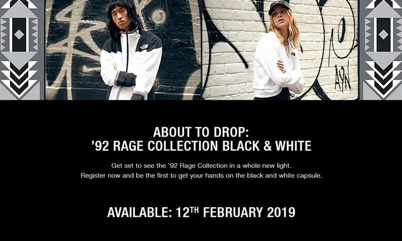 """海外2/12発売!2nd Drop THE NORTH FACE """"RAGE Blak/White COLLECTION"""" 2019 S/S (ザ・ノース・フェイス """"レイジ コレクション"""")"""