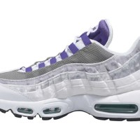 """ナイキ エア マックス 95 LV8 """"ホワイト/コートパープル/エメラルドグリーン"""" (NIKE AIR MAX 95 LV8 """"White/Court Purple/Emerald Green"""") [AO2450-101]"""