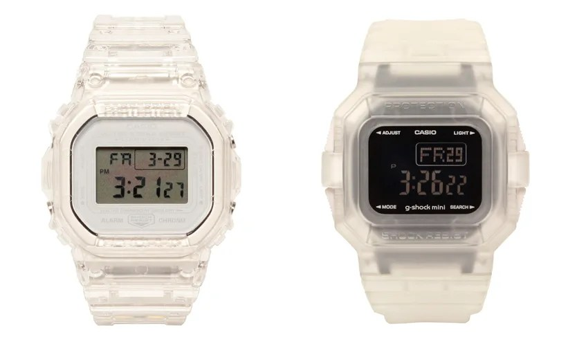 """outlet store f3da0 d6654 極限まで""""スケルトン""""を追求した G-SHOCK × BEAMS 別注 DW ..."""