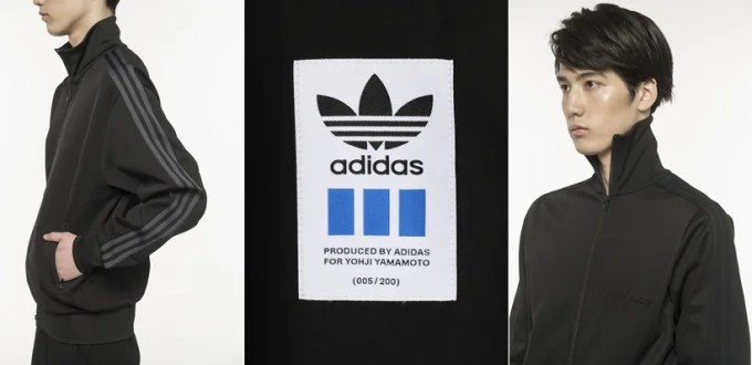 Yohji Yamamoto x adidas Collaboration 「YY Exclusive」 Capsule Collectionが6/8発売 (ヨウジヤマモト アディダス)