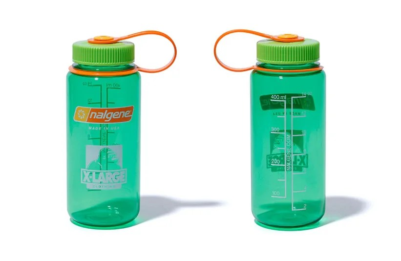 XLARGE × 純度の高いプラスチックの高性能と高気密の「Nalgene ボトル」が6/21発売 (エクストララージ ナルゲン)