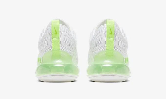 """ナイキ ウィメンズ エア マックス 720 """"ホワイト/グリーン"""" (NIKE WMNS AIR MAX 720 """"White/Green"""") [AR9293-104]"""