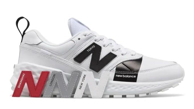 ニューバランスの「Nロゴ」が取替可能!MS574 AGB/AGCが発売 (New Balance)