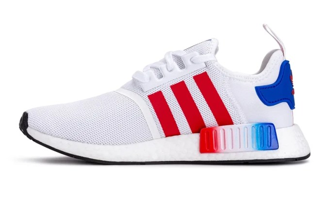 """adidas Originals NMD_R1 """"White/Red/Blue"""" (アディダス オリジナルス エヌ エム ディー アールワン """"ホワイト/レッド/ブルー"""")"""