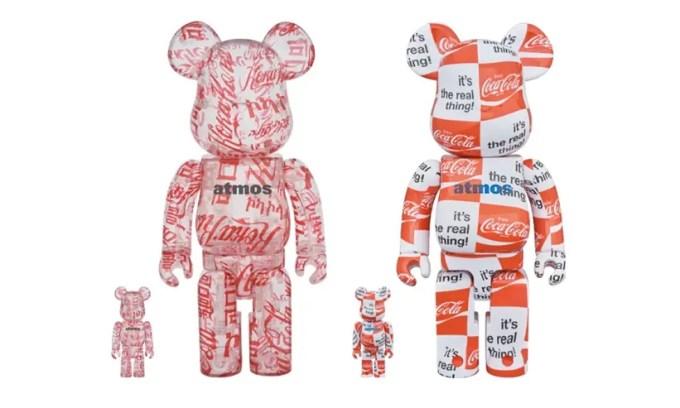 アトモス、コカコーラ、ベアブリックのトリプルコラボが10月発売 (atmos Coca-Cola BE@RBRICK)