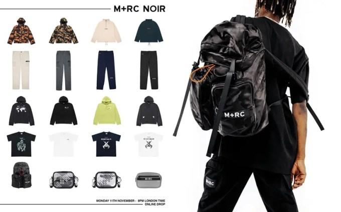 M+RC NOIR オンラインにてニューアイテムが11/11発売 (マルシェノア)