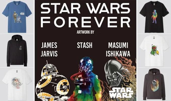 STASHやJames Jarvisなど国内外3アーティストによるUNIQLO UT × 映画「スター・ウォーズ/スカイウォーカーの夜明け」公開記念が12/9発売 (ユニクロ STAR WARS)