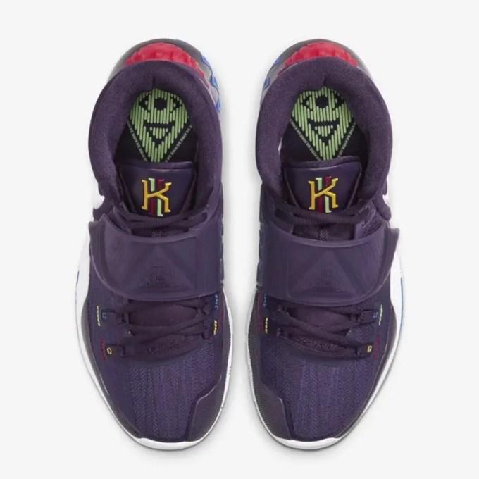 """12/7発売!ナイキ カイリー 6 """"グランドパープル"""" (NIKE KYRIE 6 """"Grand Purple"""") [BQ4631-500]"""