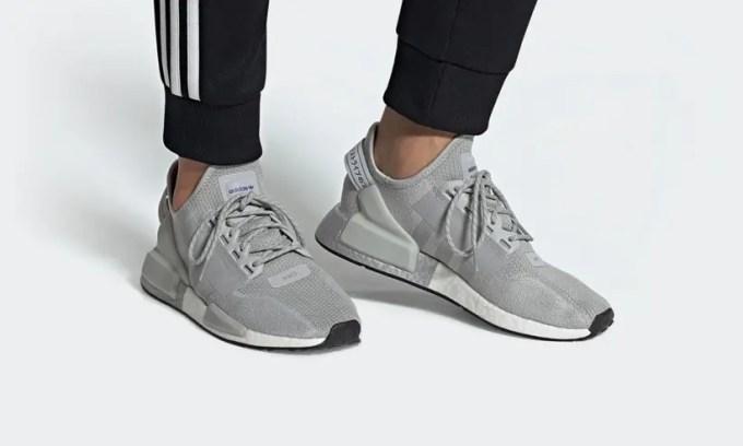 """12/5発売!adidas Originals NMD_R1 V2 """"Gray Two/Silver Metallic"""" (アディダス オリジナルス エヌ エム ディー ブイツー """"グレーツー/シルバーメタリック"""") [FW5328]"""